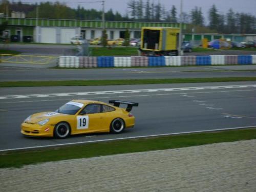 Giorgio Vinella 2010 Team Grasser racing Porsche 996 GT3 Brno Most Pannonia Test Endurance race Mauro Casadei 5
