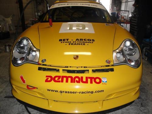 Giorgio Vinella 2010 Team Grasser racing Porsche 996 GT3 Brno Most Pannonia Test Endurance race Mauro Casadei 7