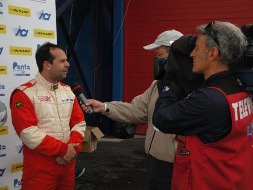 Giorgio Vinella 2011 Ibiza Cup Baroncini Franciacorta podium Capelli Championship win TV interview