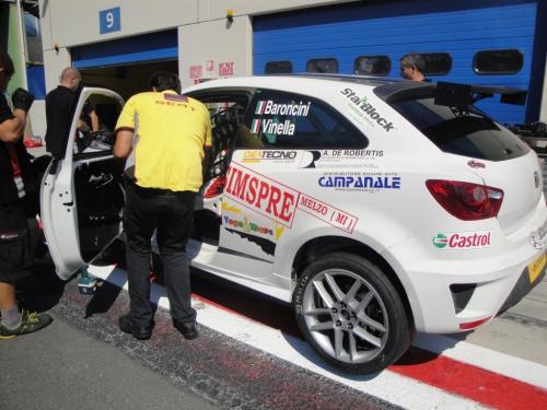 Giorgio Vinella 2011 Ibiza Cup Baroncini Seat Championship Win Vallelunga Imola Monza Mugello Misano