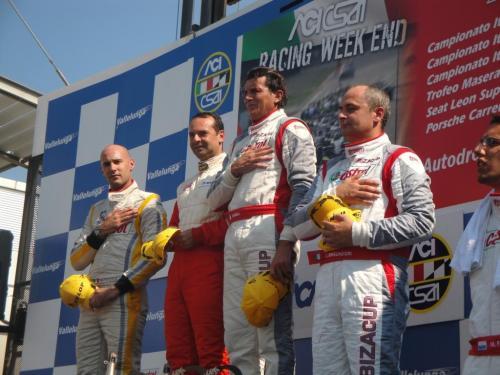 Giorgio Vinella 2011 Ibiza Cup Baroncini Seat Championship Win podium Vallelunga Imola Monza Mugello 1