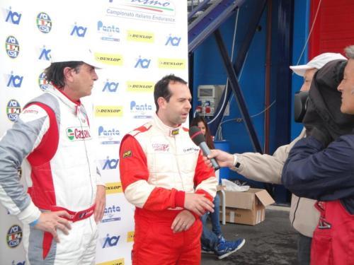 Giorgio Vinella 2011 Ibiza Cup Baroncini Seat Franciacorta podiium Capelli Championship Win TV interview 1