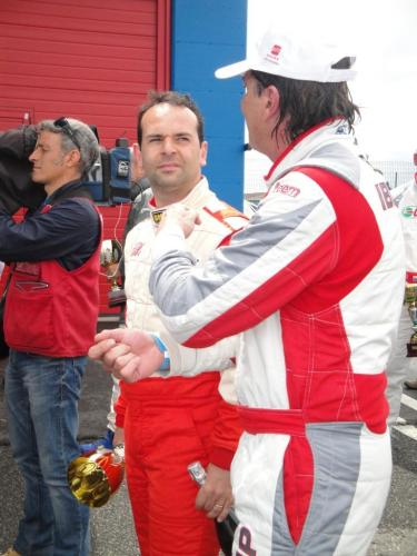 Giorgio Vinella 2011 Ibiza Cup Baroncini Seat Franciacorta podium Capelli Championship win TV interview