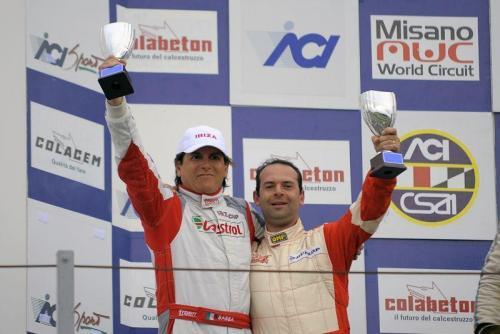 Giorgio Vinella 2011 Ibiza Cup Baroncini Seat Imola  Mugello Misano Adriatico Championship Win