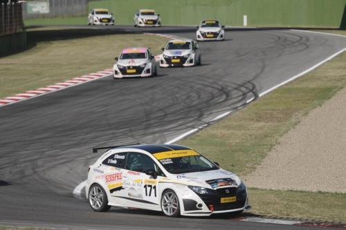 Giorgio Vinella 2011 Ibiza Cup Baroncini Seat Motorsport Imola Mugello Vallelunga Championship Win 1