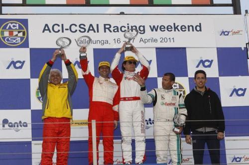 Giorgio Vinella 2011 Ibiza Cup Baroncini Seat Motorsport Imola Mugello Vallelunga Championship Win podium