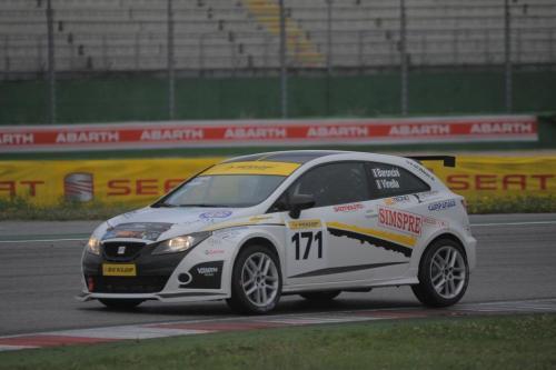 Giorgio Vinella 2011 Ibiza Cup Baroncini Seat Motorsport Misano Monza Vallelunga Championship Win 8