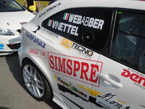 Giorgio Vinella 2011 Ibiza Cup Baroncini Seat Motorsport podium Vallelunga Monza Championship Win 2