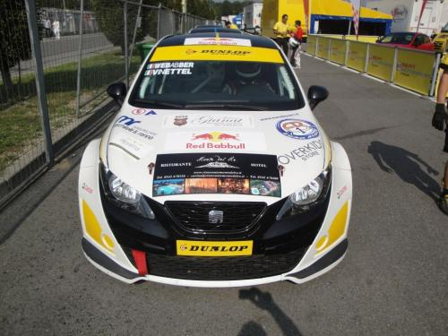 Giorgio Vinella 2011 Ibiza Cup Baroncini Seat Motorsport podium Vallelunga Monza Championship Win 3