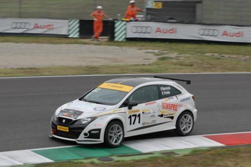 Giorgio Vinella 2011 Ibiza Cup Baroncini Seat Motorsport podium Vallelunga Mugello Championship Win