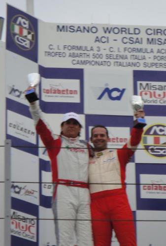 Giorgio Vinella 2011 Ibiza Cup Baroncini Seat Imola  Mugello podio Misano Adriatico Vittoria Campionato