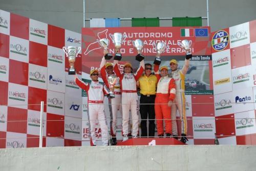 Giorgio Vinella 2011 Ibiza Cup Baroncini Seat Motorsport podio Mugello Monza Vittoria Campionato