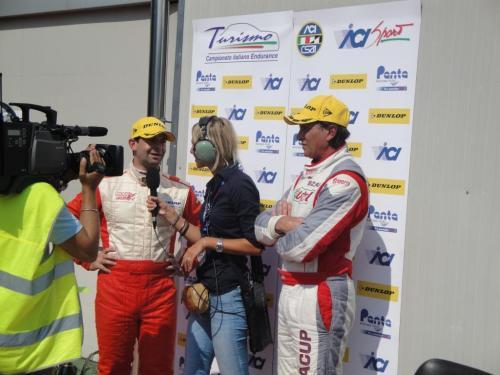 Giorgio Vinella 2011 Ibiza Cup Baroncini Seat Motorsport podio Vallelunga Vittoria Campionato intervista TV