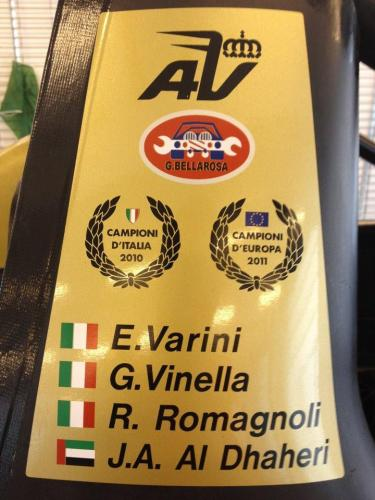 Giorgio Vinella 201212 hours Abu Dhabi Yas Marina Prototype Wolf Honda Team Bellarosa Varini Romagnoli Al Dhaheri 8