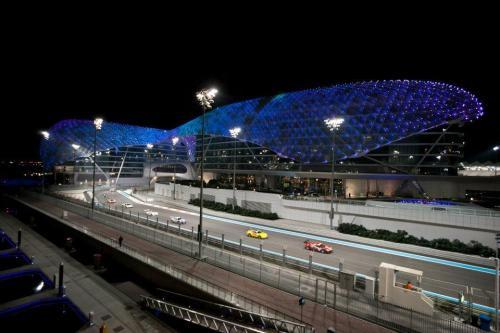 Giorgio Vinella 2012 12 12 hours Abu Dhabi Yas Marina Prototype Wolf Honda Team Bellarosa Varini Romagnoli Al Dhaheri night