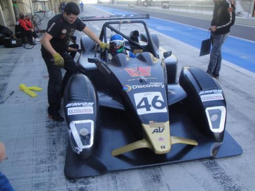 Giorgio Vinella 2012 12 hours Abu Dhabi Yas Marina Prototype Wolf Honda Team Bellarosa Varini Romagnoli Al Dhaheri 18
