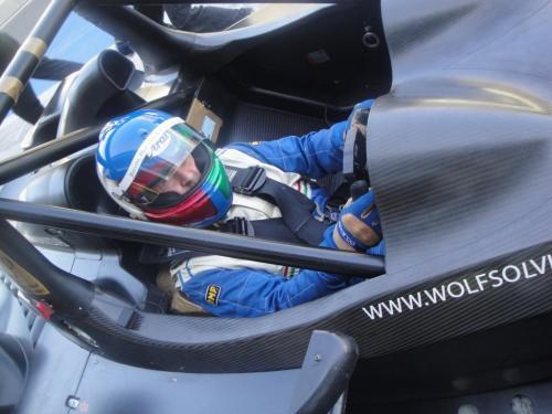 Giorgio Vinella 2012 12 hours Abu Dhabi Yas Marina Prototype Wolf Honda Team Bellarosa Varini Romagnoli Al Dhaheri 22