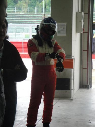 Giorgio Vinella 2012 Champion Ibiza Cup Seat Motorsport Official Baroncini Imola Italian Championship leader driver change