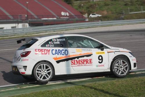 Giorgio Vinella 2013 Seat Motorsport Italia 4 ore di Franciacorta Ibiza Cup Marco Baroncini Paolo Urzì leader podio 14