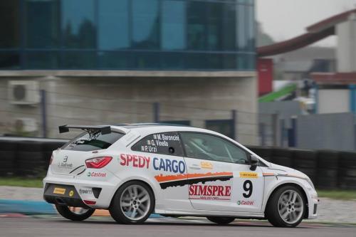 Giorgio Vinella 2013 Seat Motorsport Italia 4 ore di Franciacorta Ibiza Cup Marco Baroncini Paolo Urzì leader podio 7