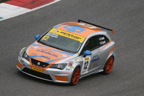Giorgio Vinella 2014 Seat Motorsport Ibiza Cup 4 Ore Mugello Capriati podium 1
