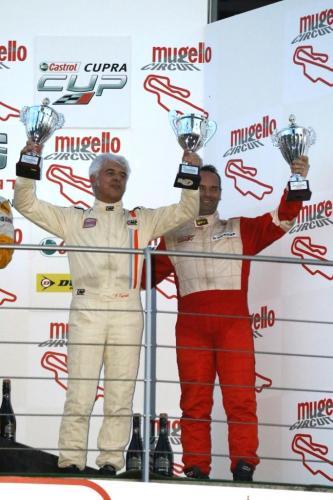 Giorgio Vinella 2014 Seat Motorsport Ibiza Cup 4 hours Mugello Capriati podium 17