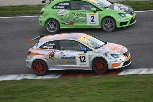 Giorgio Vinella 2014 Seat Motorsport Ibiza Cup 4 hours Mugello Capriati podium 5