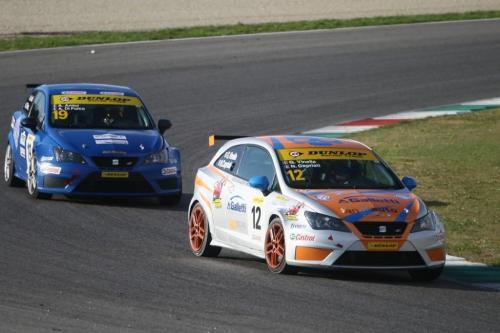 Giorgio Vinella 2014 Seat Motorsport Ibiza Cup 4 hours Mugello Capriati podium 6