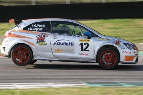 Giorgio Vinella 2014 Seat Motorsport Ibiza Cup 4 hours Mugello Capriati podium 7