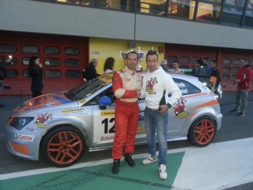 Giorgio Vinella 2014 Seat Motorsport Ibiza Cup 4 hours Mugello Capriati podium Ciccio White Danger Farm