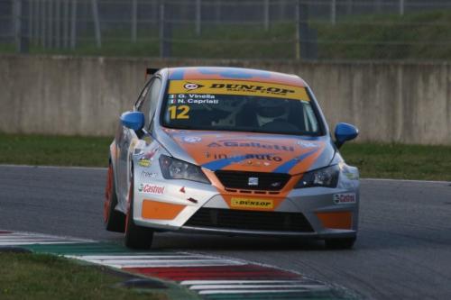 Giorgio Vinella 2014 Seat Motorsport Ibiza Cup 4 hours Mugello Capriati podium  13