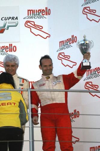 Giorgio Vinella 2014 Seat Motorsport Ibiza Cup 4 hours Mugello Capriati podium  15