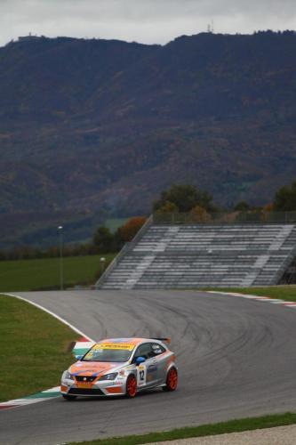 Giorgio Vinella 2014 Seat Motorsport Ibiza Cup 4 hours Mugello Capriati podium correntaio corner
