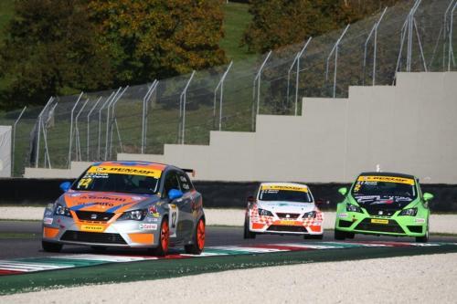 Giorgio Vinella 2014 Seat Motorsport Ibiza Cup 4 hours Mugello Capriati podium race 2