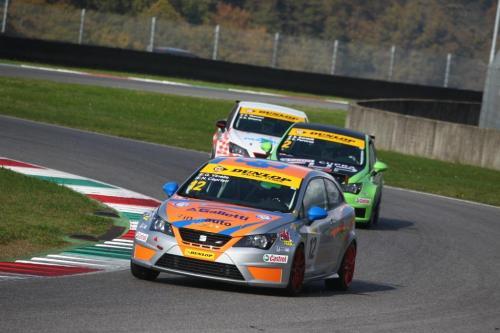 Giorgio Vinella 2014 Seat Motorsport Ibiza Cup 4 hours Mugello Capriati podium race 3