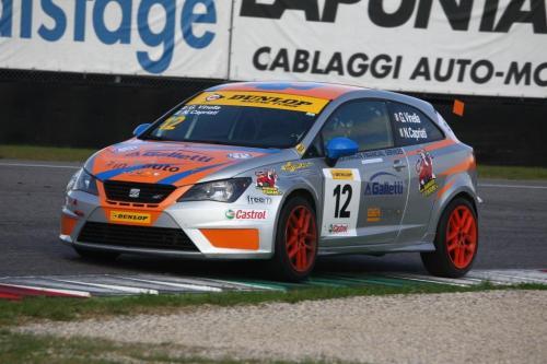 Giorgio Vinella 2014 Seat Motorsport Ibiza Cup 4 hours Mugello Capriati podium race 4
