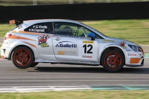 Giorgio Vinella 2014 Seat Motorsport Ibiza Cup 4 hours Mugello Capriati podium race 5