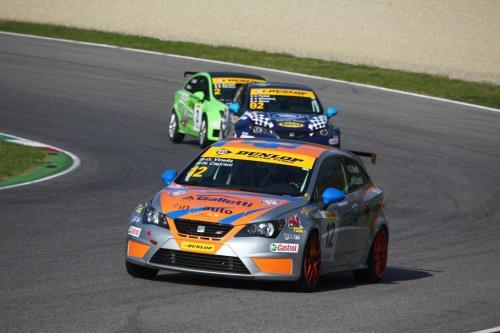 Giorgio Vinella 2014 Seat Motorsport Ibiza Cup 4 hours Mugello Capriati podium race arrabbiata corner