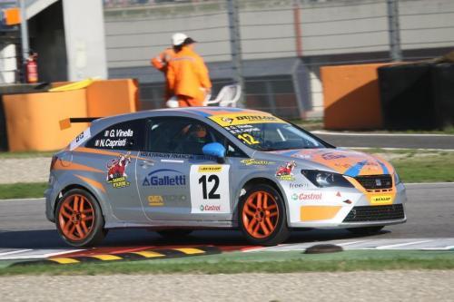 Giorgio Vinella 2014 Seat Motorsport Ibiza Cup 4 Ore Mugello Capriati podio 10