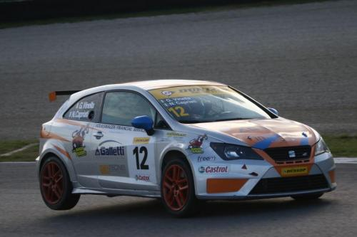 Giorgio Vinella 2014 Seat Motorsport Ibiza Cup 4 Ore Mugello Capriati podio 11