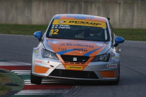 Giorgio Vinella 2014 Seat Motorsport Ibiza Cup 4 Ore Mugello Capriati podio 14