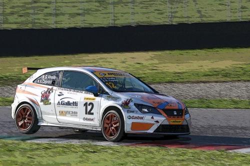 Giorgio Vinella 2014 Seat Motorsport Ibiza Cup 4 Ore Mugello Capriati podio 8