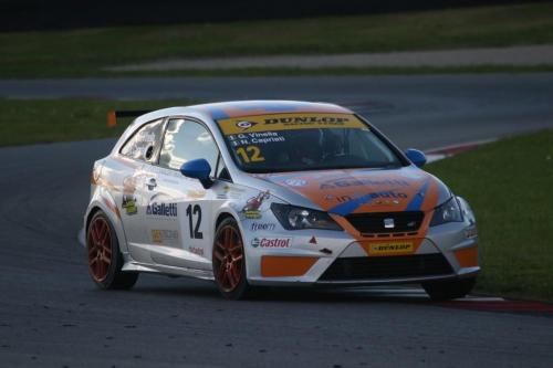 Giorgio Vinella 2014 Seat Motorsport Ibiza Cup 4 Ore Mugello Capriati podio 9