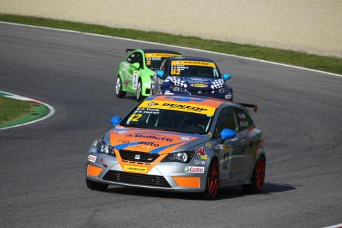 Giorgio Vinella 2014 Seat Motorsport Ibiza Cup 4 Ore Mugello Capriati podio gara