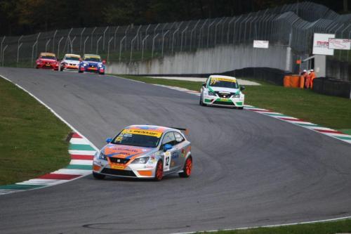 Giorgio Vinella 2014 Seat Motorsport Ibiza Cup 4 Ore Mugello Capriati podio gara Casanova Savelli