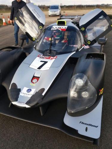 Giorgio Vinella Test LMP3 Team T-Sport Team Virage UK Valencia Paolo Ruberti 1