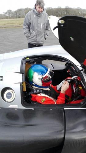 Giorgio Vinella Test LMP3 Team T-Sport Team Virage UK Valencia Paolo Ruberti 2