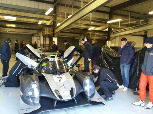 Giorgio Vinella Test LMP3 Team T-Sport Team Virage UK Valencia Paolo Ruberti 8