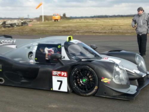 Giorgio Vinella Test LMP3 Team T-Sport Team Virage UK Valencia Paolo Ruberti