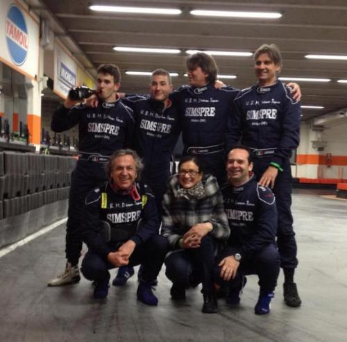 Giorgio Vinella 6 Ore Endurance Race Kart Vignate Winner Team